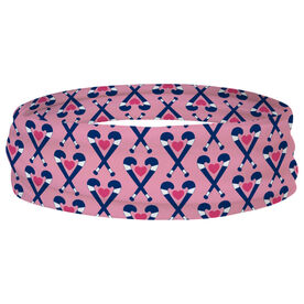 Field Hockey Multifunctional Headwear - Field Hockey Hearts RokBAND