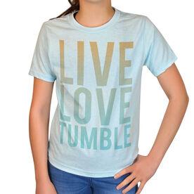 Vintage Gymnastics T-Shirt - Live Love Tumble