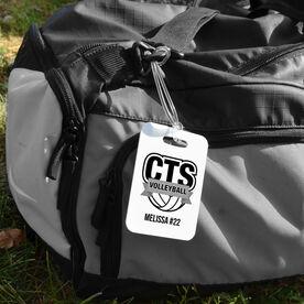 Volleyball Bag/Luggage Tag - Custom Logo