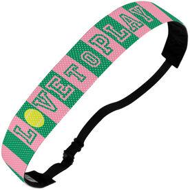 Tennis Julibands No-Slip Headbands - Love To Play