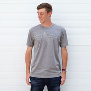 Crew Short Sleeve T-Shirt - Crew Row Team Sketch