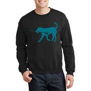 Rowing Crew Neck Sweatshirt - Cody The Crew Dog