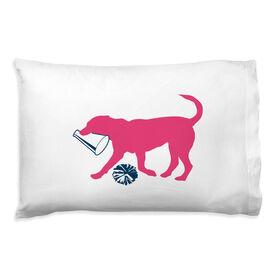 Cheerleading Pillowcase - Coco The Cheer Dog