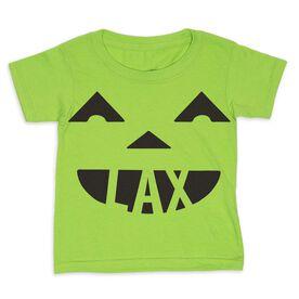 Lacrosse Toddler Short Sleeve Tee - Pumpkin Lax