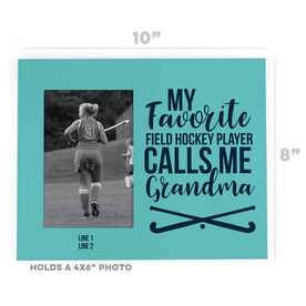 Field Hockey Photo Frame - Grandma's Favorite Player