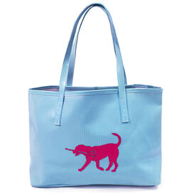 Girls Lacrosse Tote Bag (Kali) LuLa the Lax Dog