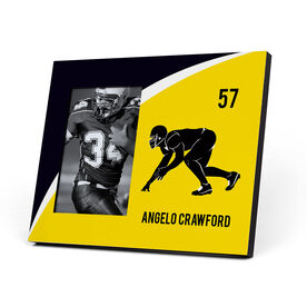 Football Photo Frame - Personalized Linebacker