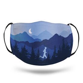 Running Face Mask - Mountain Call