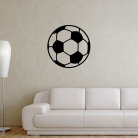 Soccer Ball Removable ChalkTalkGraphix Wall Decal