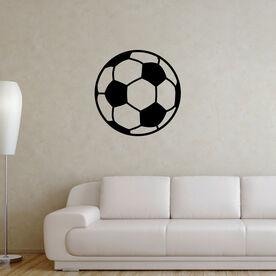 Soccer Ball Removable ChalkTalkGraphix Wall Decal