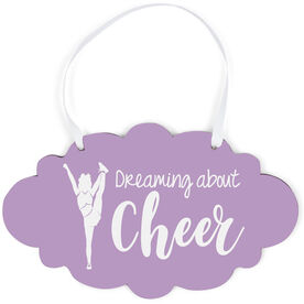 Cheerleading Cloud Sign - Dreaming About Cheer