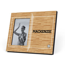 Volleyball Photo Frame - Volleyball Court Personalized