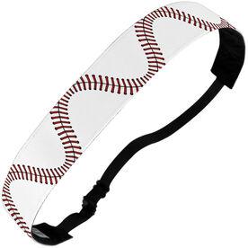 Baseball Juliband No-Slip Headband - Stitches (Wavy)