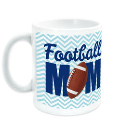 Football Coffee Mug Mom with Photo