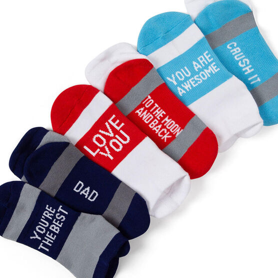 Socrates® Woven Performance Sock Set - Love You Dad