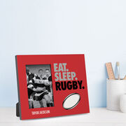 Rugby Photo Frame - Eat Sleep Rugby