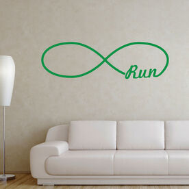 Run Forever GoneForaRunGraphix Wall Decal