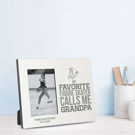 Figure Skating Photo Frame - Grandpa