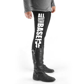 Cheerleading High Print Leggings - All About That Base