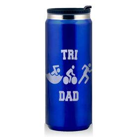 Stainless Steel Travel Mug Tri Dad