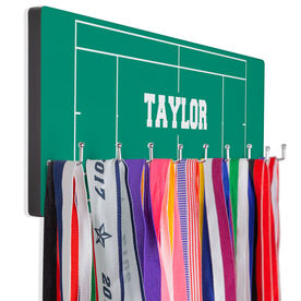 Tennis Hooked on Medals Hanger - Court