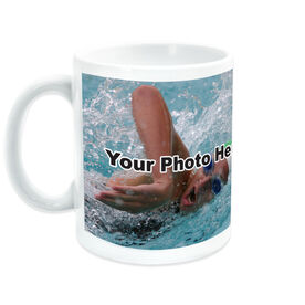 Swimming Coffee Mug Custom Photo