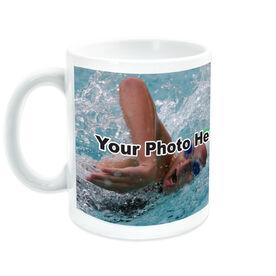 Swimming Coffee Mug Custom Photo