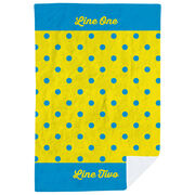 Personalized Premium Blanket - My Polka Dots
