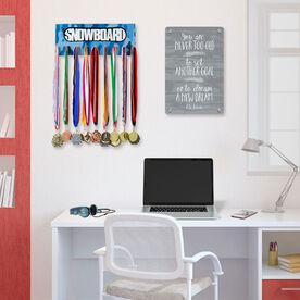 Snowboarding Hooked on Medals Hanger - Top Snowboard