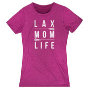 Girls Lacrosse Women's Everyday Tee - Lax Mom Life