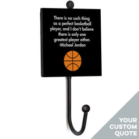 Basketball Medal Hook - Your Quote