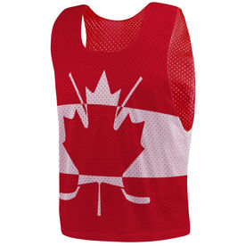 Hockey Pinnie - Canada Flag