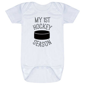 Hockey Baby One-Piece - My First Hockey Season