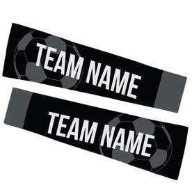 Soccer Printed Arm Sleeves - Soccer Team Name