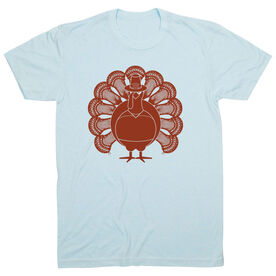 Guys Lacrosse Short Sleeve T-Shirt - Turkey Player