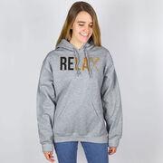 Girls Lacrosse Hooded Sweatshirt - Relax