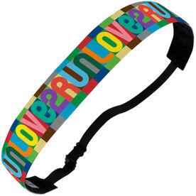 Running Juliband No-Slip Headband - Love 2 Run (Color)