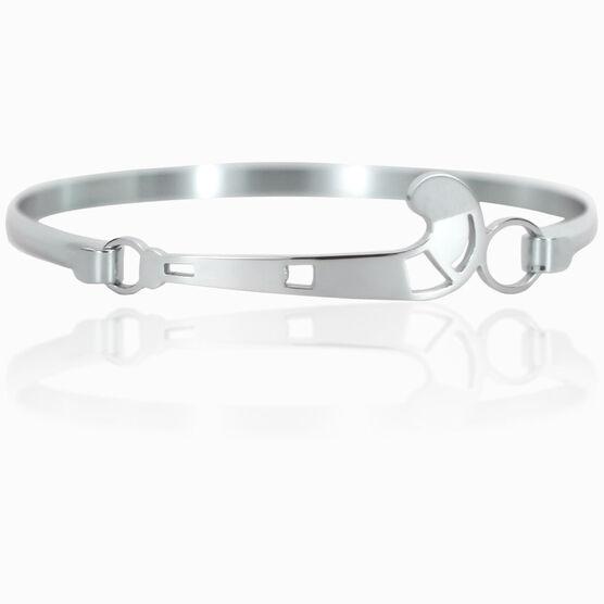 Field Hockey Stainless Steel Bracelet