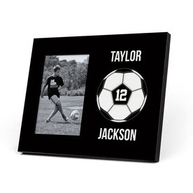 Soccer Photo Frame - Custom Soccer Ball