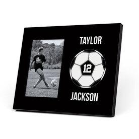 Soccer Photo Frame - Custom Soccer Ball