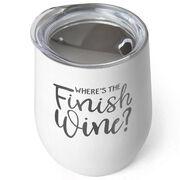 Running Stainless Steel Wine Tumbler - Where's The Finish Wine?