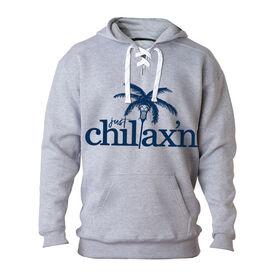 Lacrosse Sport Lace Sweatshirt - Just Chillax'n
