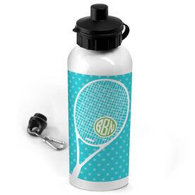 Tennis 20 oz. Stainless Steel Water Bottle Monogrammed Tennis Life