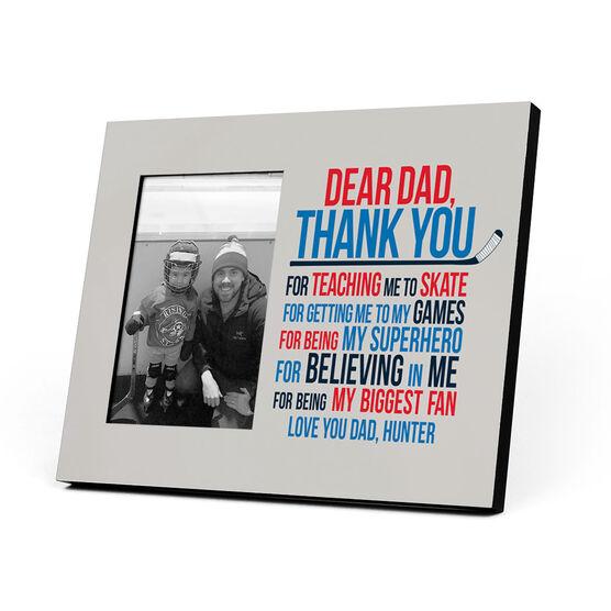 Hockey Photo Frame - Dear Dad