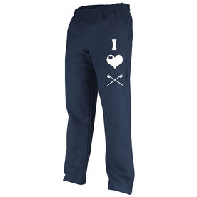 I Love Crew (Symbols) Fleece Sweatpants