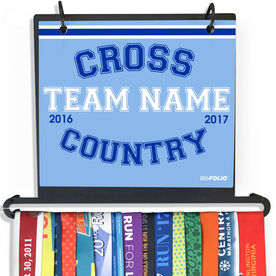 BibFOLIO+™ Race Bib and Medal Display Cross Country Team