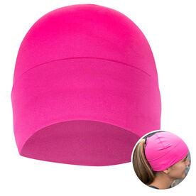 Performance Ponytail Cuff Hat - Pink