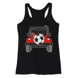 Soccer Women's Everyday Tank Top - Soccer Cruiser