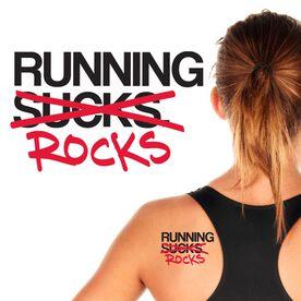 Running Rocks SportTATS Temporary Running Tattoo