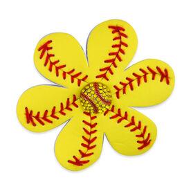 Authentic Softball Hair Clip